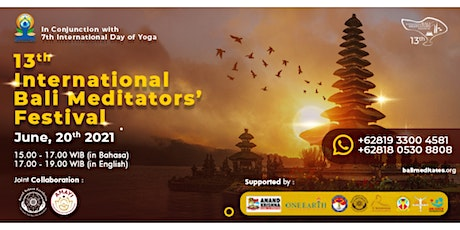 13th International Bali Meditators' Festival tickets