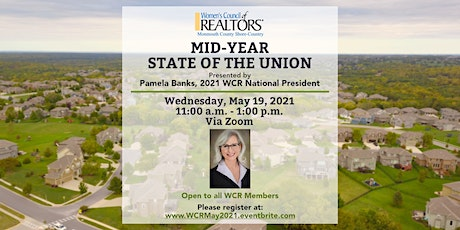 MID YEAR - STATE OF THE UNION WITH 2021 WCR NATIONAL PRESIDENT PAMELA BANKS tickets