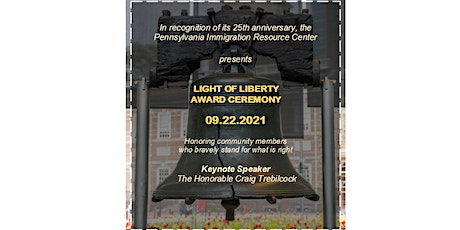 2021 Light of Liberty Awards Ceremony tickets