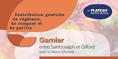 COMPLET - Distribution de végétaux 2021 : secteur De Lorimier tickets