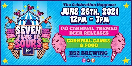 B52 Brewery 7th Anniversary Celebration tickets