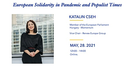 European Solidarity in Pandemic and Populist Times tickets