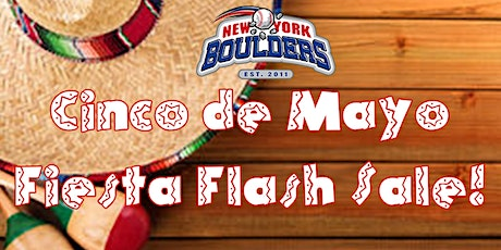 New York Boulders Cinco de Mayo - Fiesta Flash Sale tickets