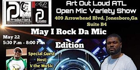 Art Out Loud ATL : Open Mic Variety Show featuring D. Swint tickets