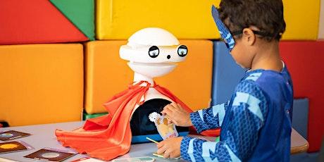 Démonstration et jeux avec EMYS Robot: un natif anglophone pour les enfants billets