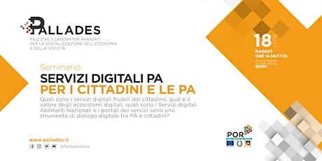 Servizi digitali PA per cittadini e Pubblica Amministrazione biglietti