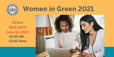USGBC Middle Atlantic New England region presents: Women in Green 2021 tickets