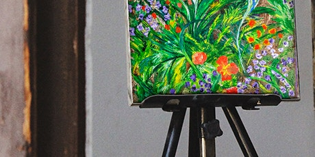 Painting Workshop: Abstract Acrylic Flowers tickets