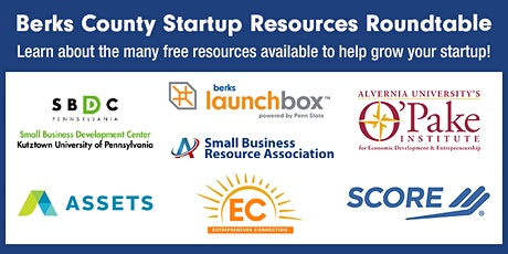 Berks County Startup Resources Roundtable tickets