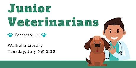 Tweens: Junior Veterinarians - Walhalla Library tickets