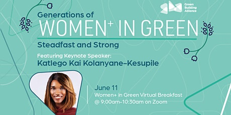 Women+ in Green Breakfast tickets