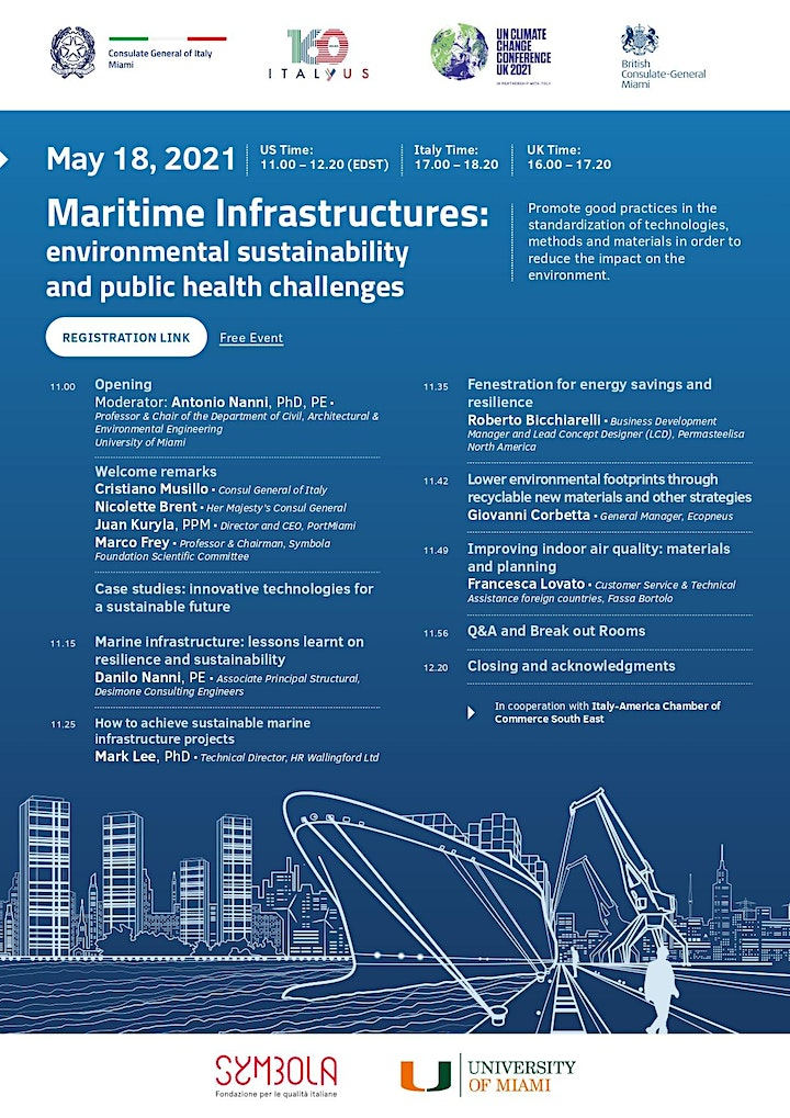 Maritime Infrastructures: environmental sustainability and public health image