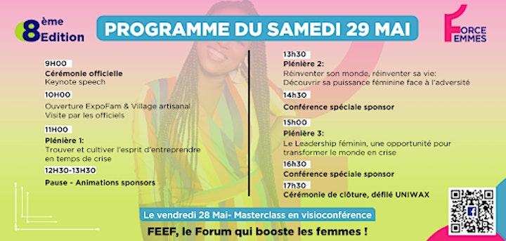 Image pour Forum de l'Emploi et de l'Entrepreneuriat Féminin- FEEF 2021