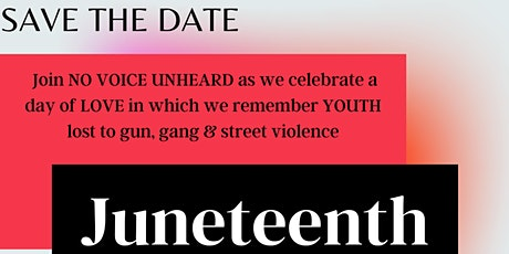 JUNETEETH DAY OF LOVE tickets