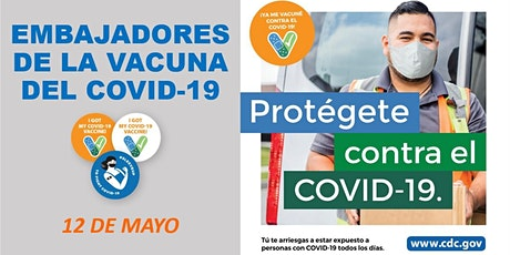 Embajadores de la Vacuna del COVID-19 - Taller gratis en línea entradas