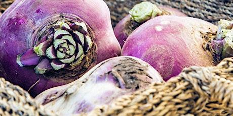 Rutabagas: Biennial Seed Production  | Production de semences bisannuelles tickets