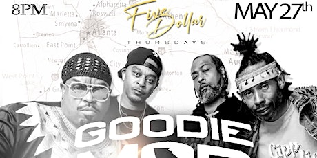 "GOODIE MOB 25 YEARS ANNIVERSARY "" SOUL FOOD "" ALBUM CELEBRATION $5 THURS tickets"
