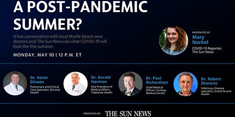 COVID-19 in Myrtle Beach: Will we have a post-pandemic summer? tickets