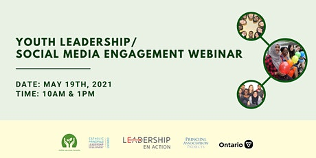Youth Leadership & Social Media Engagement Webinar tickets