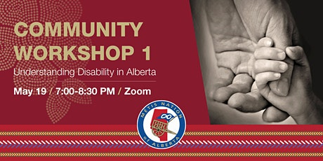 Community Workshop #1: Understanding Disability in Alberta tickets