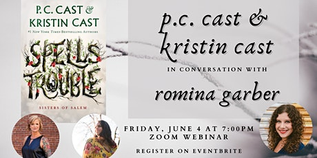 P.C. Cast & Kristin Cast in conversation with Romina Garber tickets