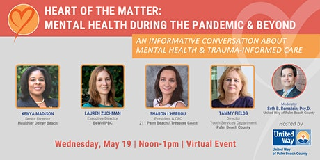 Heart of the Matter: Mental Health During the Pandemic & Beyond tickets
