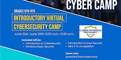 MVUSD/MVC 2021 Virtual Cyber Camp tickets
