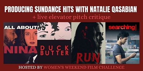 Producing Sundance hits with Natalie Qasabian + live pitch critique tickets