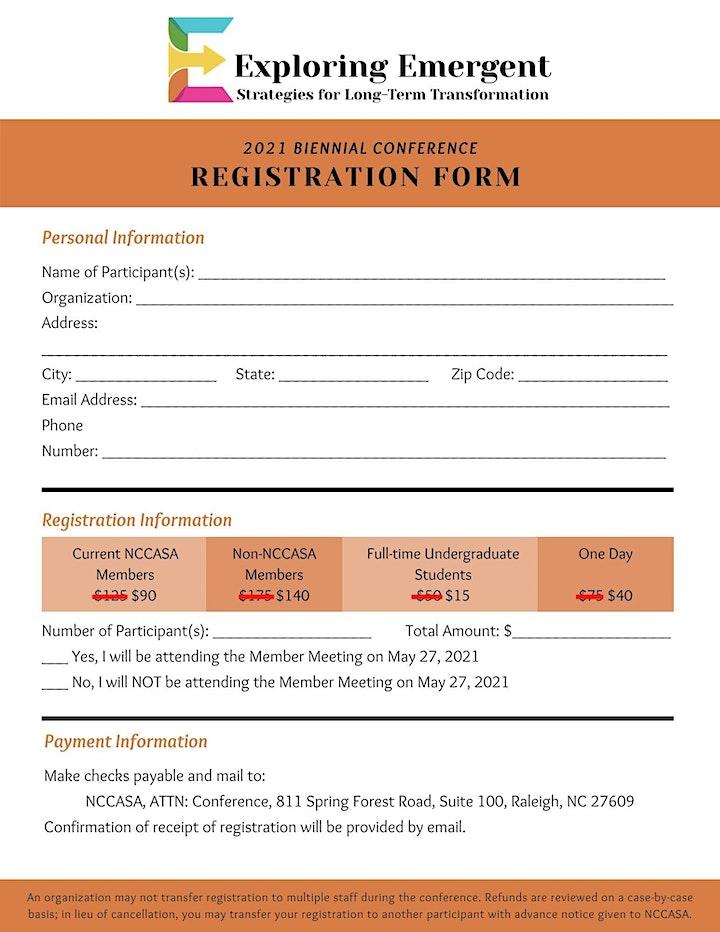 NCCASA 2021 Biennial Conference image