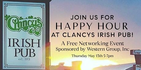 Happy Hour at Clancy's Irish Pub tickets