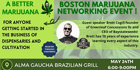 Marijuana Networking tickets