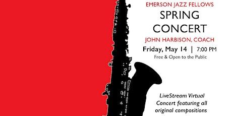 MIT Emerson Jazz Fellows Spring Concert Tickets