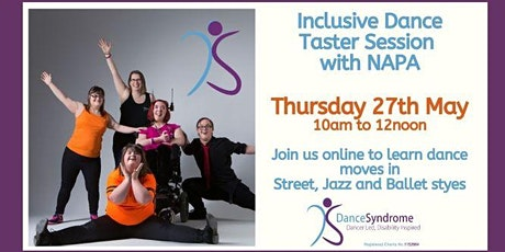 Inclusive Dance Taster Session - hosted by NAPA tickets