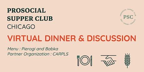 Prosocial Supper Club: May tickets