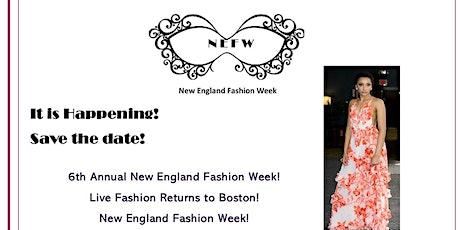7th Annual New England Fashion Week tickets