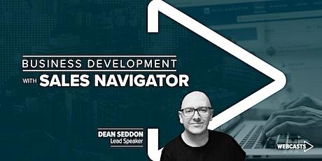 Business Development with Sales Navigator tickets