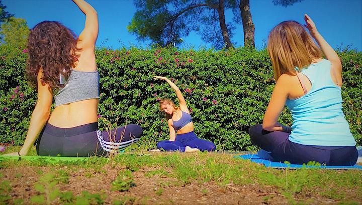 Immagine Lezione di Pilates all'aperto