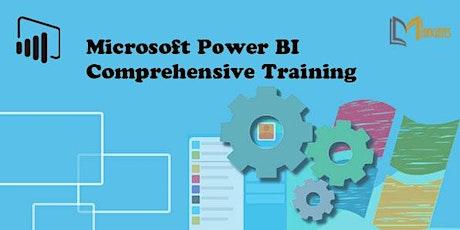 Microsoft Power BI Comprehensive 2 Days Virtual Training in Mississauga tickets