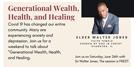 Generational Wealth, Health, and Healing tickets