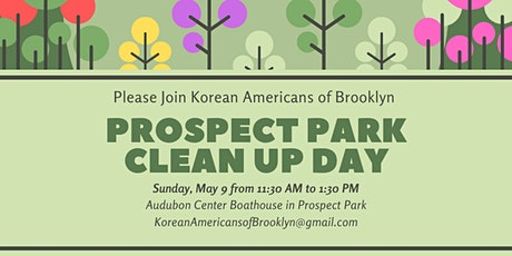 Korean Americans of Brooklyn's Prospect Park Clean Up Day tickets