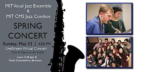 MIT Vocal Jazz Ensemble & MIT CMS Jazz Combos Spring Concert tickets