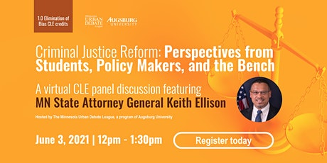 Criminal Justice Reform: Perspective from Students, Policymakers, The Bench tickets
