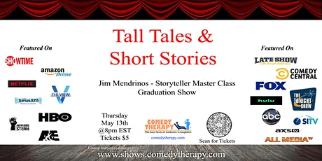 Tall Tales & Short Stories Storyteller Grad Show - May 13th tickets