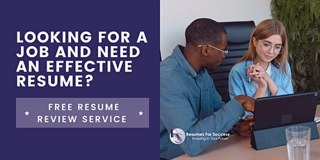 Free Resume Review tickets