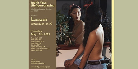 Life Figure Drawing via Zoom - with lynxeyes88 tickets