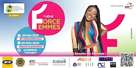 Forum de l'Emploi et de l'Entrepreneuriat Féminin- FEEF 2021 billets