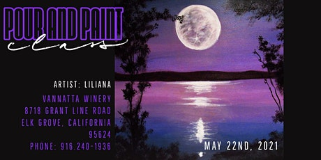 POUR AND PAINT: 'Acquainted with the Night' tickets