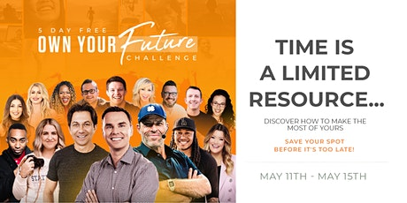 Own Your Future Challenge - 5 Day LIVE Event (Brendan Burchard) tickets