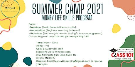 Summer Camp 2021 - Money Life Skills Program tickets