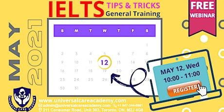 IELTS General Module Free Webinar tickets
